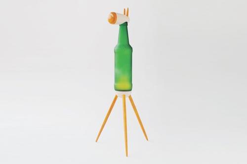 """[转载]可爱又迷人还很二""""的酒瓶led动物灯[5p]"""