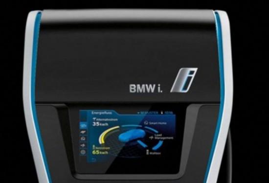 宝马推智能车用充电器 不怕车联没电!