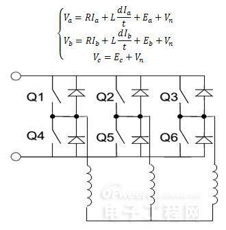 bldc驱动电路拓扑图