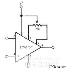 必知运算放大器知识:相位补偿,调零电路,偏置电流