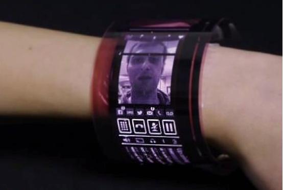 可穿戴设备真正柔性amoled显示屏问世