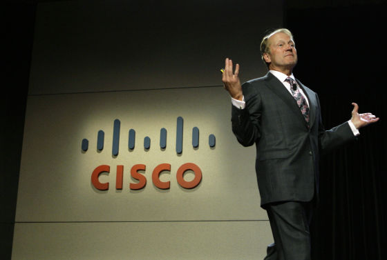 思科CEO约翰·钱伯斯