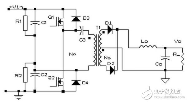镇流器当中,半桥电路发挥着重要的作用.