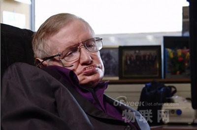 霍金与英特尔联手开发联网轮椅