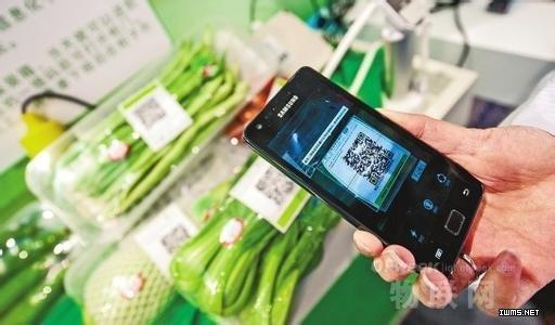 超市农产品披上二维码 破题食品安全农科院出新招
