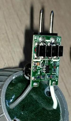 4W的COB LED射灯拆解:有瑕疵也有惊喜
